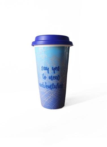 LWP Shop Macy's Say Yes Porselen Termos Lacivert